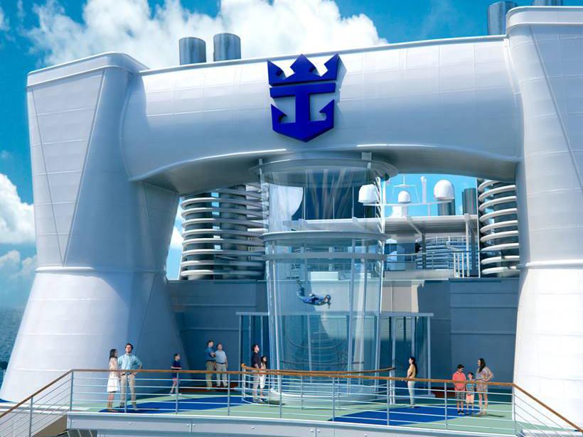 皇家加勒比海洋赞礼号邮轮日本北九州