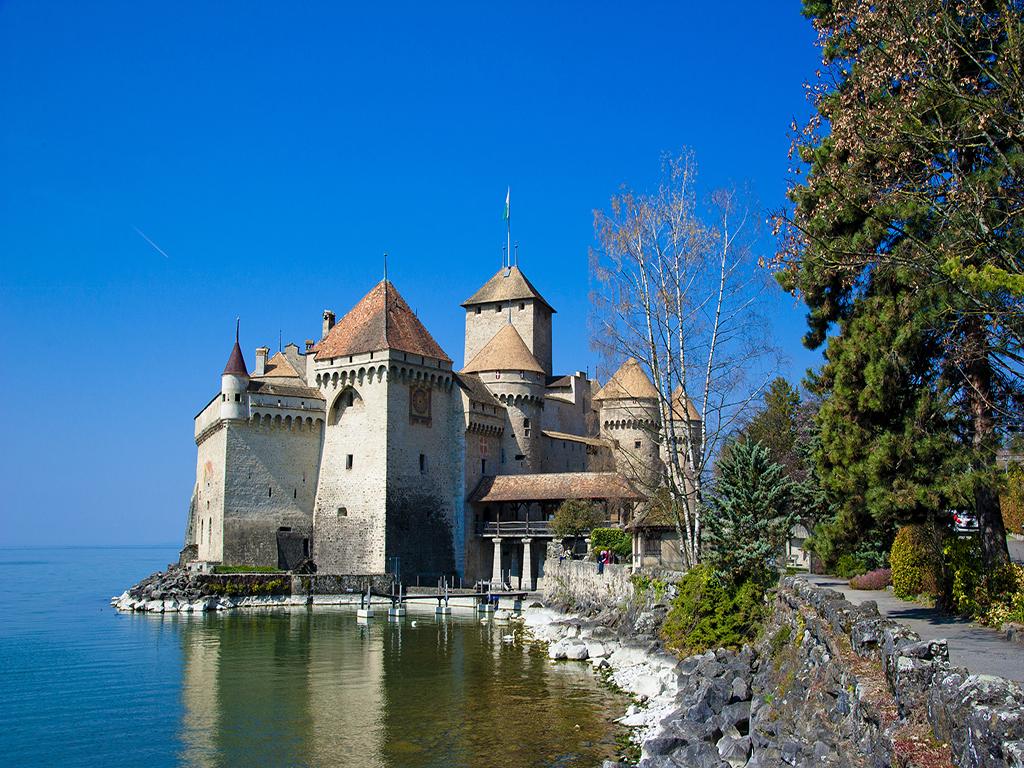 【UGO】瑞士法国【城堡酒店】11晚13日 +双雪山+TGV+金色山口快车