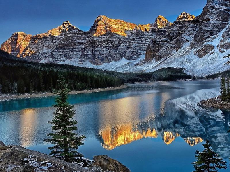 【穿越落基山】加拿大东西岸落基山全景深度